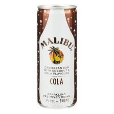 Malibu Rum Cola 250ml