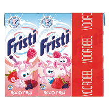 Fristi Rood fruit mini 6x200ml