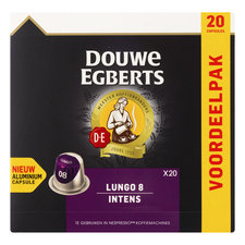 Douwe Egberts Capsules Lungo Intens 20st