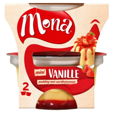 Mona Vanille Pudding met Saus Duo 300ml