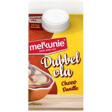 Melkunie Dubbel Vla Chocolade Vanille 500ml
