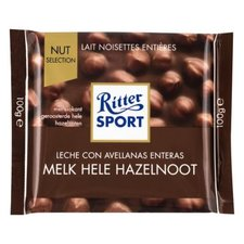 Rittersport Melk Hele Hazelnoot 100gr
