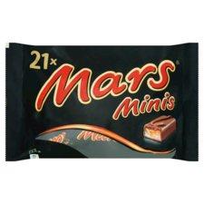 Mars Mini's 21 Stuks 403gr
