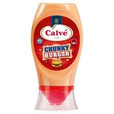 Calve Chunky Burgersaus 250ml