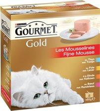 Gourmet Gold Fijne Mousse 8x85gr