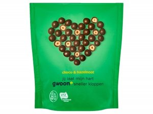 Gwoon Choco's Hazelnoot 200gr