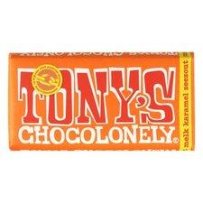 Tony's Chocolony Melk Karamelzout 180gr