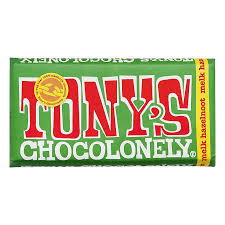 Tony's Chocolony Melk Hazelnoot 180gr