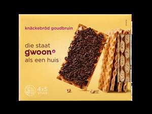 Gwoon Knackebrod Goudbruin