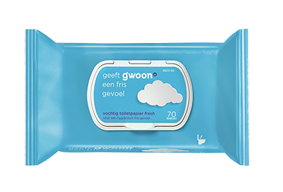 Gwoon fresh vochtig toiletpapier